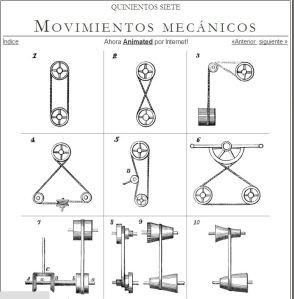 movimientos mecánicos